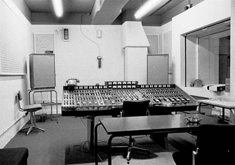 Tannoys at Abbey Road Studios
