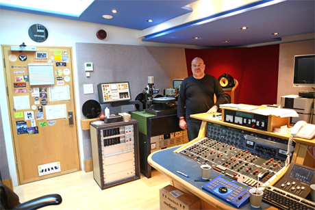 Sean Magee at Abbey Road 2014